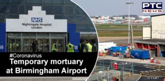 Coronavirus UK , Birmingham Airport Mortuary , COVID 19 Boris Johnson