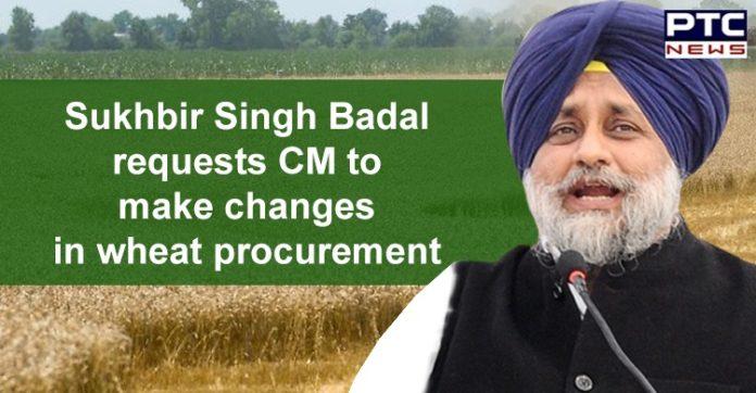 Wheat Procurement | Punjab farmers | Sukhbir Singh Badal | Captain Amarinder Singh