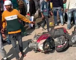 Haryana News | Three died in a Road Accident in Yamunanagar