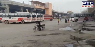 Punjab bus stands wear a deserted look, amid coronavirus crisis