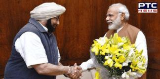 PM Modi extends greetings to Punjab CM Amarinder Singh on his 78th birthday
