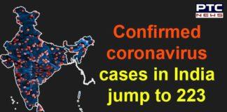 Coronavirus Confirmed Cases in India , Chandigarh ,Mohali , Punjab