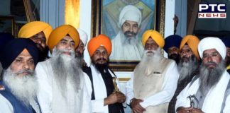 Shaheed Baba Gurbaksh Singh Including Four personalities Pictures Decorated In Central Sikh Museum Amritsar