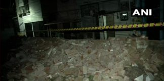 delhi two die in hospital collapse