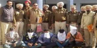 4 Man Arrested With Heroin In Sultanpur Lodhi