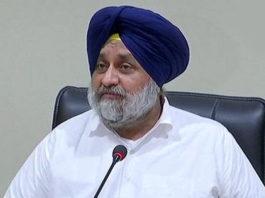 Sukhbir Badal to Captain Amarinder on Girdwari For Cotton Crop in Abohar