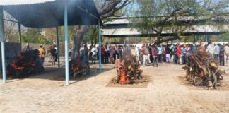 Sunam accident family Cremation