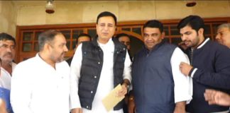 Congress Leader Randeep Surjewala attacks on JJP-BJP Govt