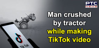 Newly married man crushed by tractor , filming TikTok on Holi Muzaffarabad