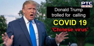 Donald Trump Coronavirus Pandemic , Chinese Virus , COVID 19