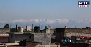 Good News! Lockdown : Rare view of snow-capped Himalayan range seen from Jalandhar
