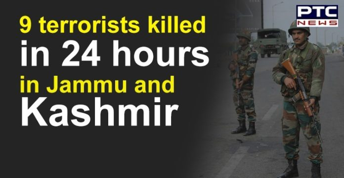Jammu and Kashmir Batpur and Keran Encounter | 9 Terrorists Killed