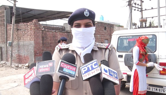 Woman Police Making Food at Police Station to server Needy