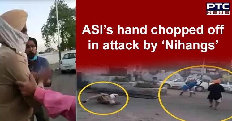 Patiala Sanaur ASI Hand Chopped Off by Nihang Group   Punjab DGP Dinkar Gupta