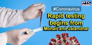 Coronavirus Punjab Rapid Testing in Mohali and Jalandhar Begins