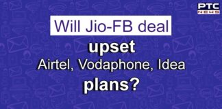 Facebook Jio Deal Impact on Bharti Airtel and Vodafone Idea