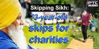 UK Skipping Sikh | 73-year-old skips for charities | COVID 19 Fundraiser