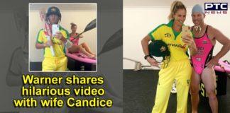Coronavirus Outbreak   David Warner TikTok With Wife Candice