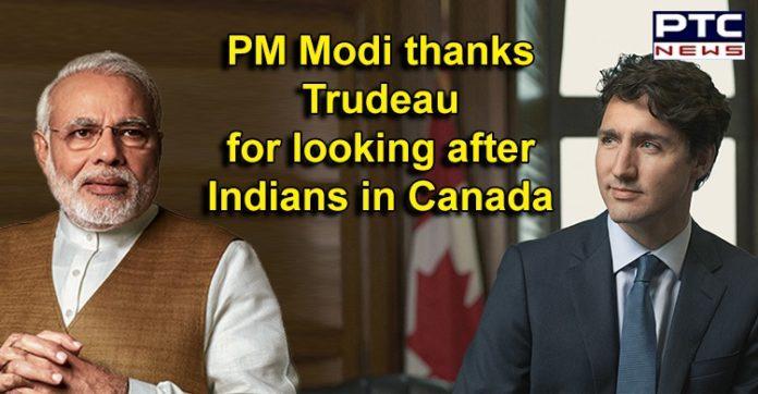 Coronavirus Pandemic | Narendra Modi to Canada PM Justin Trudeau