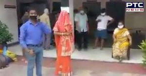 lockdown : mother sent her son to home rations, Brought bride In Uttar Pradesh