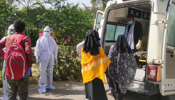 Coronavirus Haryana   Dis Infection Tunnel in Gurugram Hospital