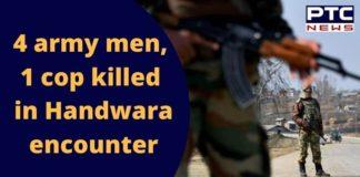 Jammu Kashmir Handwara Encounter Today | Colonel and Major Killed | Rajnath Singh