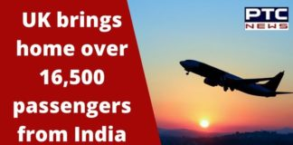 British government | UK Flies home 16,500 passengers from India | Coronavrius Lockdown
