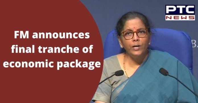 FM Nirmala Sitharaman Press Conference Today   Rs 20 lakh crore economic package 5th Day
