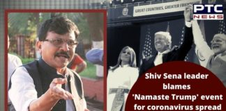 Coronavirus India Gujarat | Sanjay Raut Blames Namaste Trump Event