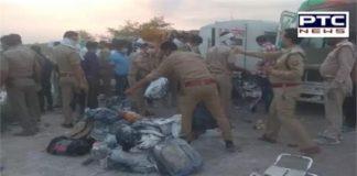 24 migrants killed in road accident in Uttar Pradesh's Auraiya