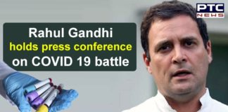 Congress Leader Rahul Gandhi Press Conference on COVID 19 | Coronavirus