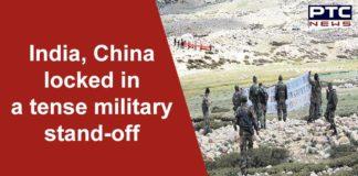 India China Stand Off Near Eastern Ladakh | Pangong Tso Lake