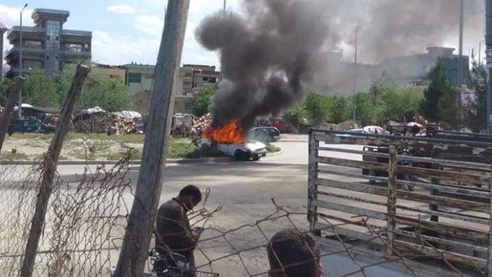 Car bomb attack in Ghazni of Kabul