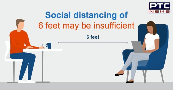 Coronavirus Spread | Social Distancing of 6 feet insufficient | Saliva Droplets Research