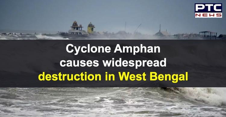 Cyclone Amphan Destruction West Bengal | North 24 Parganas | Howrah