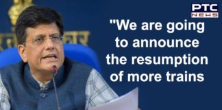 Indian Railways Ticket Booking For Passenger Train Services June 1 | Minister Piyush Goyal