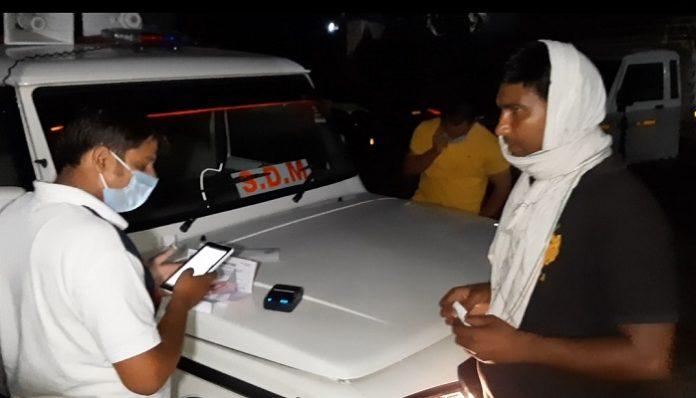 SDM fined overload vehicles | Haryana Latest News