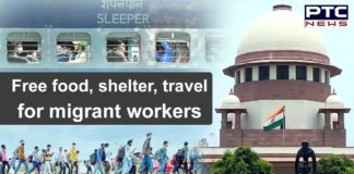 Supreme Court Order to States and UTs for Migrant Workers | Free Food and Shelter