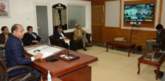 CM urges for cooperation from Panchayat Pradhans to fight COVID-19