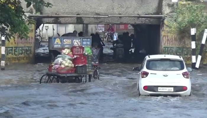 Underpass Turned in Swimming pool in Sonipat of Haryana
