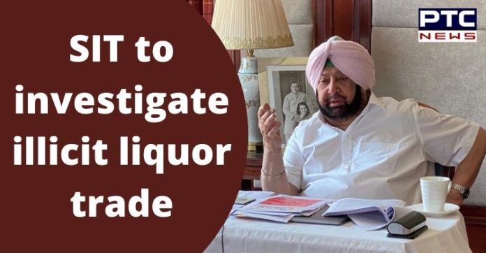 Punjab Captain Amarinder Singh Orders SIT into Illicit Liquor Trade and Smuggling