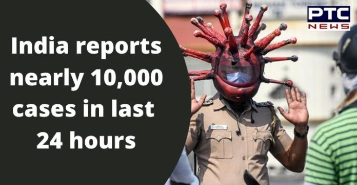 Coronavirus Death Toll in India   Confirmed Cases 2,46,628   COVID 19 Today