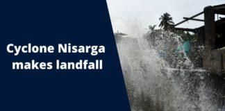 Cyclone Nisagra 2020 Landfall in Maharashtra Alibaug   IMD Gujarat