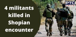 Jammu and Kashmir Zainapora Shopian Encounter | 4 Terrorists Killed