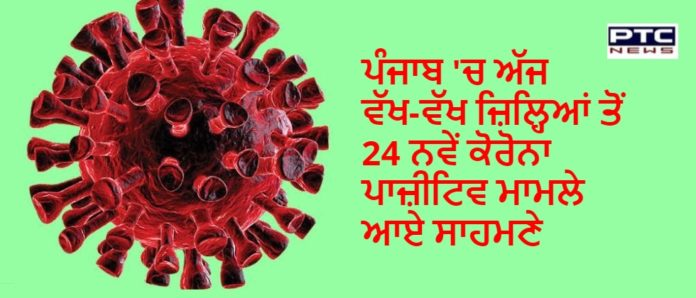 Punjab reports 24 new cases of coronavirus