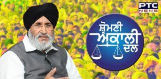 Shiromani Akali Dal | Daljit Singh Cheema | SAD Protest on Punjab Blue cards | Congress