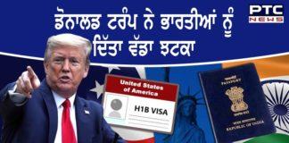 Donald Trump suspends H-1B, H-4 visas till year end