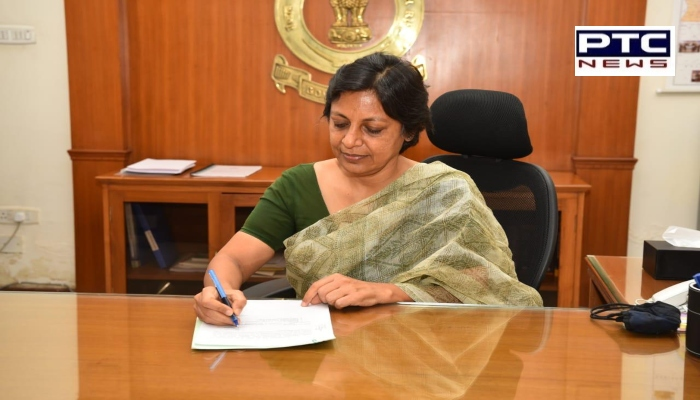 Vini Mahajan Takes over as first woman Chief Secretary of Punjab