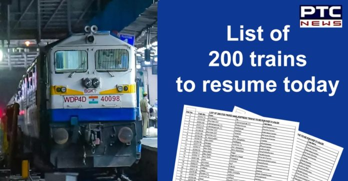 Indian Railways List of 200 Special Trains | Jan Shatabdi, Duronto, Sampark Kranti Express