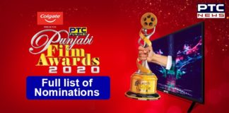 PTC Punjabi Film Awards 2020 Nominations List | PTC Network